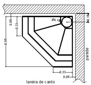 Telhado de alvenaria
